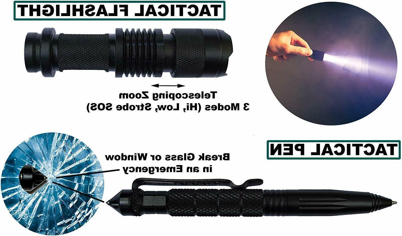 65 1 Camping Survival Gear Tactical Backbag EDC Kit