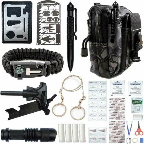 65 in 1 outdoor camping survival gear