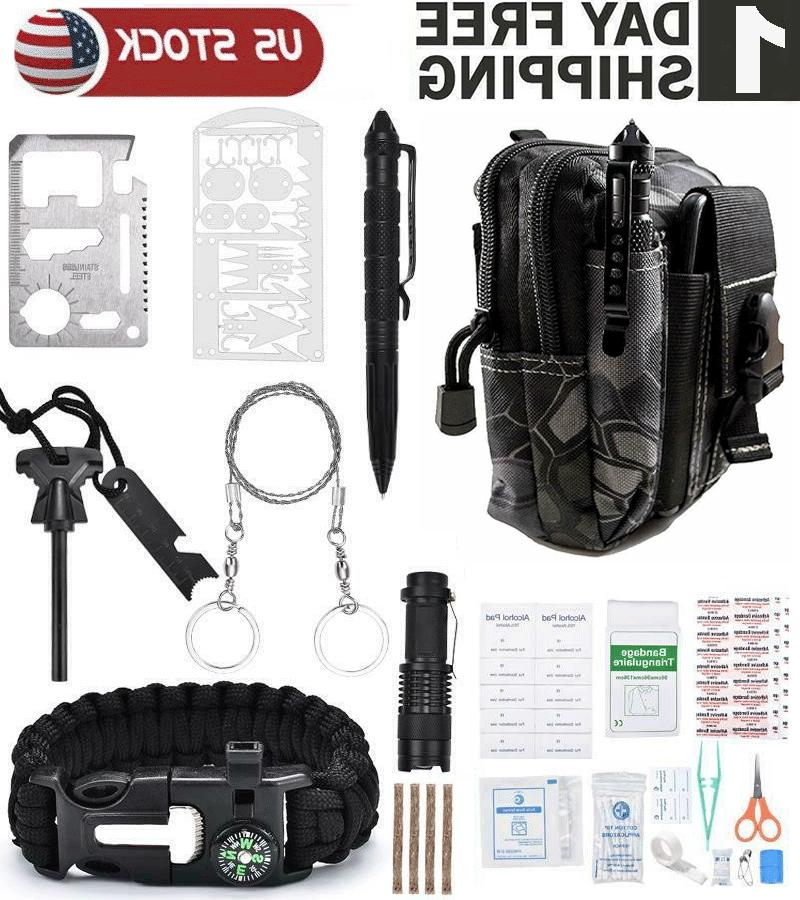 65 in 1 tactical military survival gear