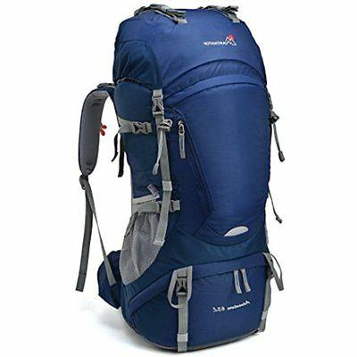 Mountaintop 65L Outdoor Hiking Backpack Camping Internal Fra
