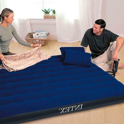 Intex 68765E Classic Downy Airbed with 2 Pillows and Hand Pump,
