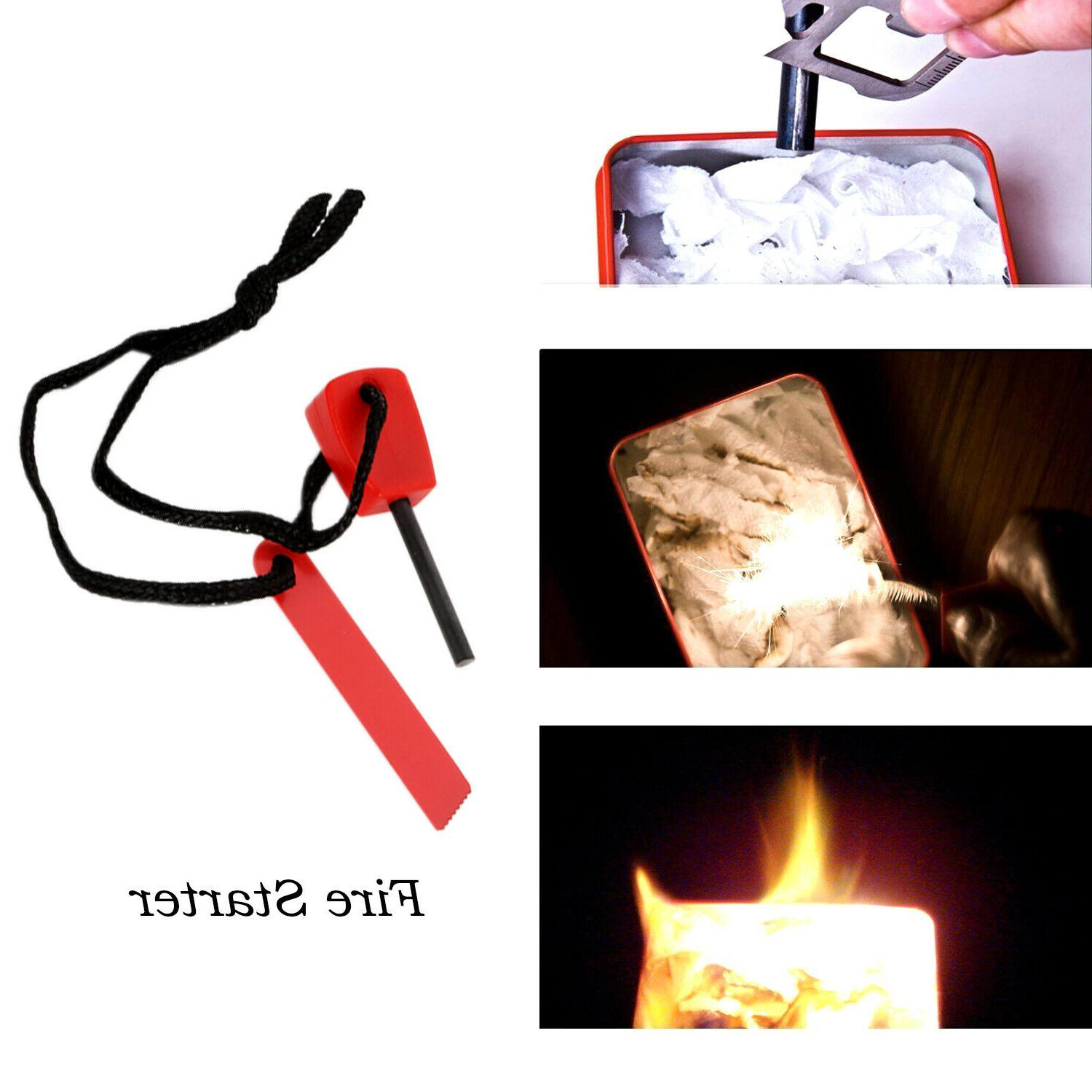 7 in 1 Emergency Survival Equipment Kit Camping