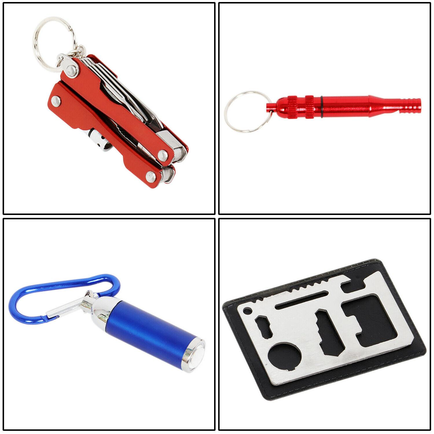 7 in Emergency Survival Kit Outdoor Gear Tool Camping