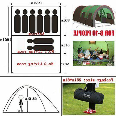 8-10 Instant Tent Camping