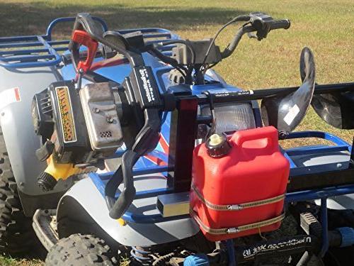 Bucket, Propane Tank Gear Holder for Snowmobile, Trailer