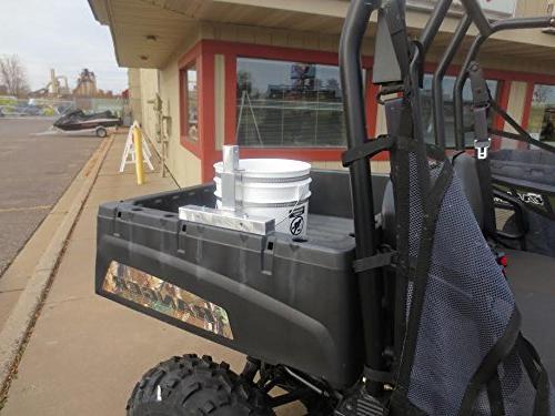 Propane Tank Gear Holder for ATV, Trailer Hunting