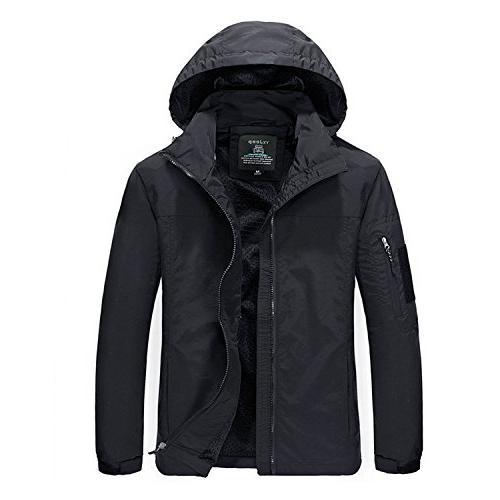 CIOR Men Jackets Windbreaker Waterproof UV Protect Rain Coat