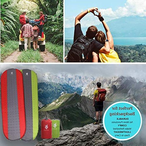 Open Sleeping Pad and Backpacking Backpacking Gear Mattress Air