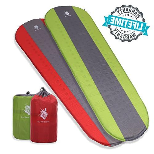 Open Road Self Inflating Sleeping Pad for Camping and Backpa