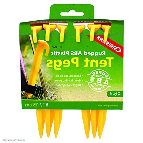 abs plastic tent pegs