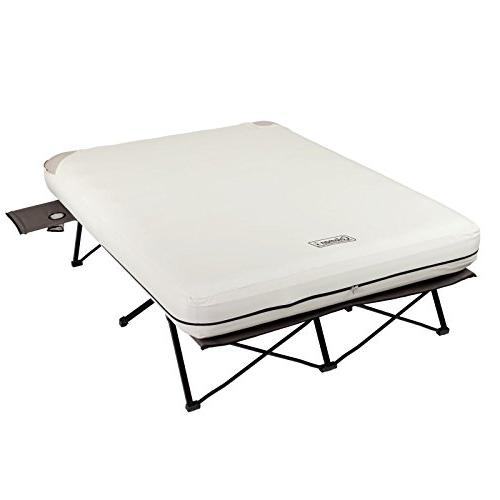Coleman Queen Folding Cot with and Battery