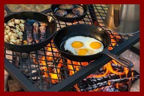 AmazonBasics Duty Campfire Grill,