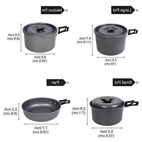yodo Cookware Set Pot Kit 4-5 Person