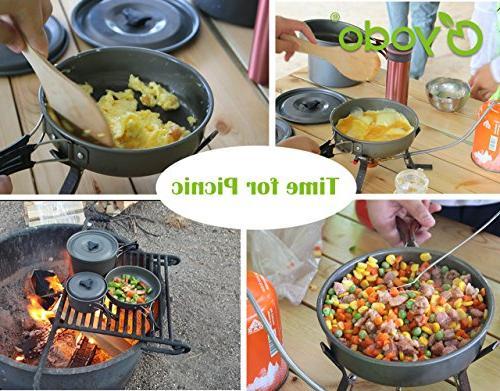 yodo Anodized Cookware Pot Kit 4-5 Person