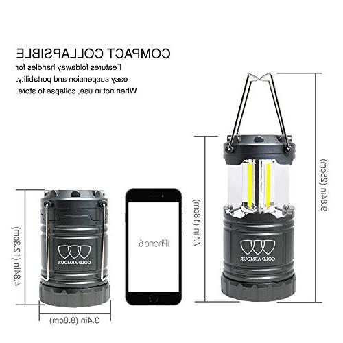 Gold Armour LED Lantern - - Camping Gear Camping Equipment Camping Lights Hiking, Emergencies,