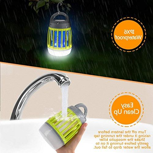 BATTOP Bug 3 Lantern & Waterproof Camping Accessories - Mosquito Light