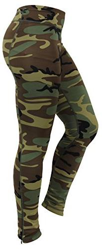 Rothco Women's Camo Performance Leggings, Large