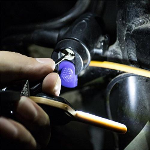 Camping & LED Keychain,Fashion Keyring of Mind key holes dark