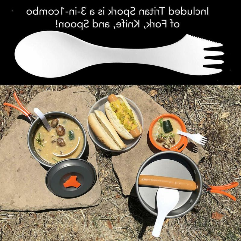 Camping Cookware Anodized Mess Kitchen Gear4U