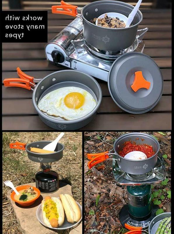 Camping Cookware Anodized Kitchen by