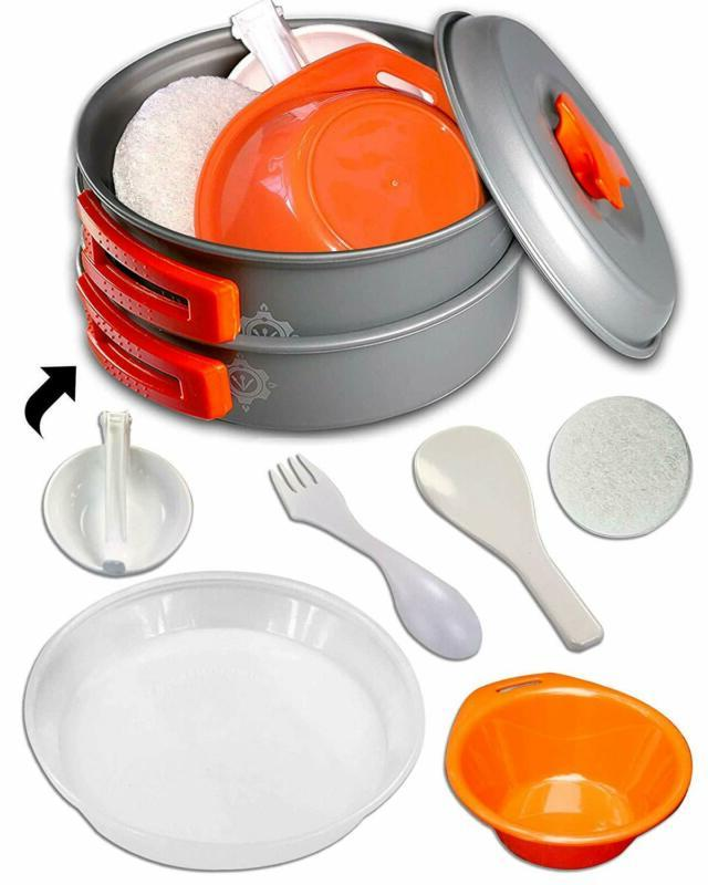 Camping Cookware Kitchen by Gear4U