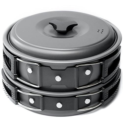 camping cookware mess kit backpacking