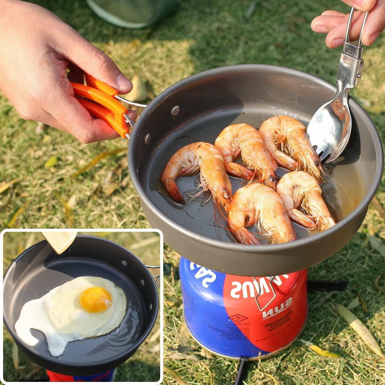 REDCAMP Pots Pans Set