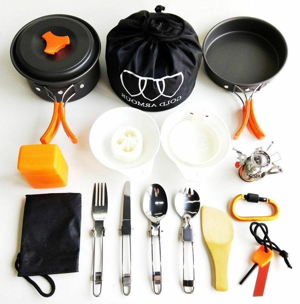 Camping Cookware Backpacking Gear Hiking Bug Bag