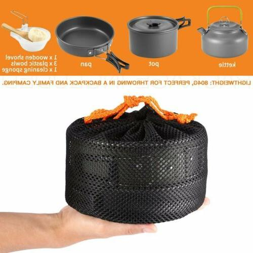 Camping Cookset Kit Outdoor Gear MY