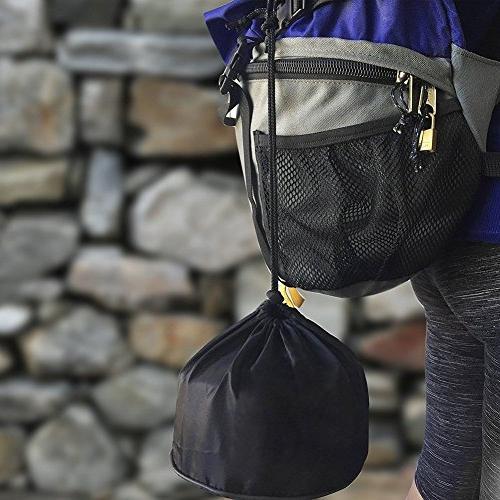 Camping Set Hiking backpacking Gear Outdoor Survival Equipment Utensils Non-stick , ,Folding,Best Gear Mess