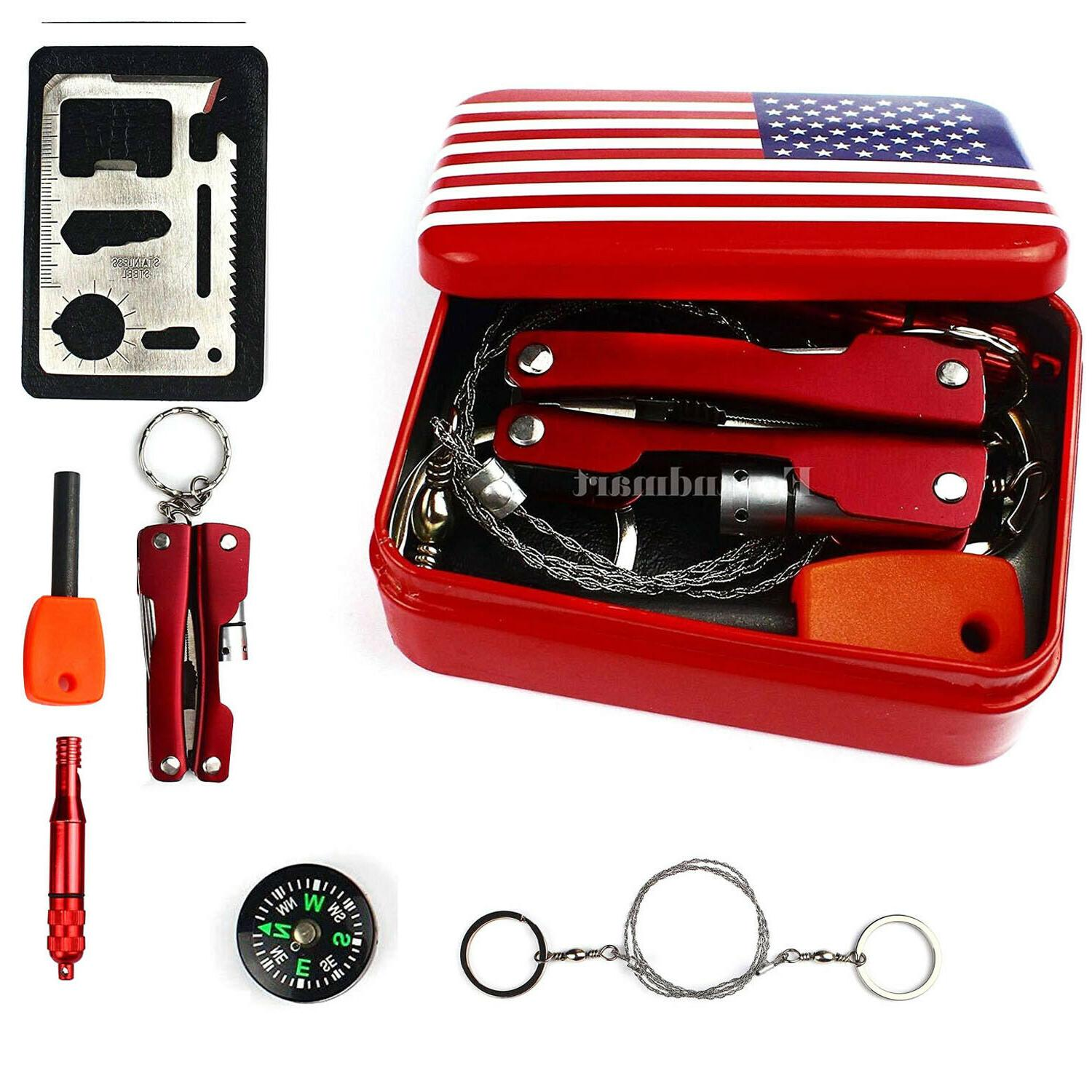 camping hiking survival emergency gear