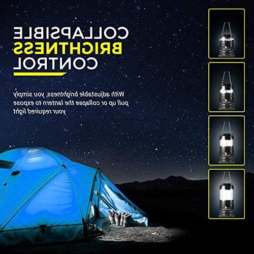 MalloMe LED Camping Lantern Flashlights 4 - Super Bright - Lumen Portable with