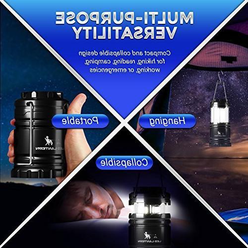 MalloMe LED Flashlights 4 Super Bright - Lumen Portable with