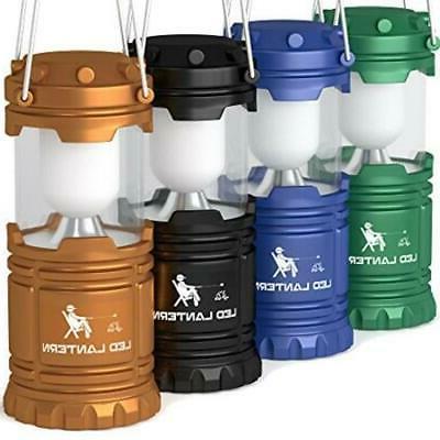 Set Of 4 Lantern LED Flashlight Best Camping Lantern Accesso