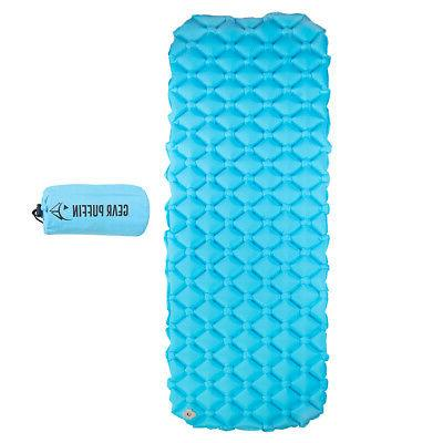 Self Inflating Sleeping Pad Lightweight Outdoor Bed Mattress