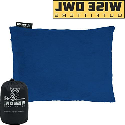 camping pillow compressible foam pillows