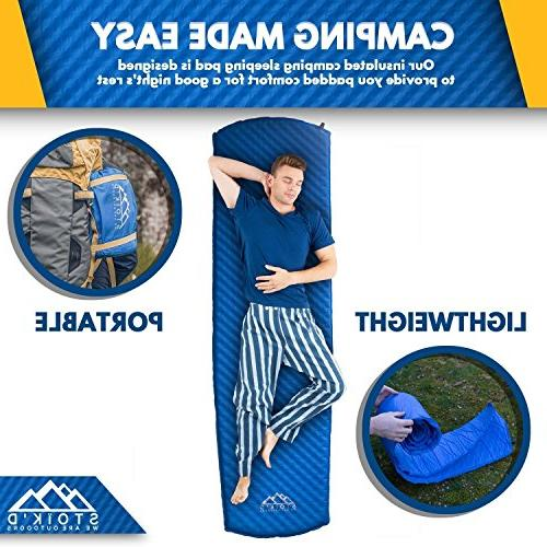 Sleeping Mattress Great as a Hiking, Premium Foam Included
