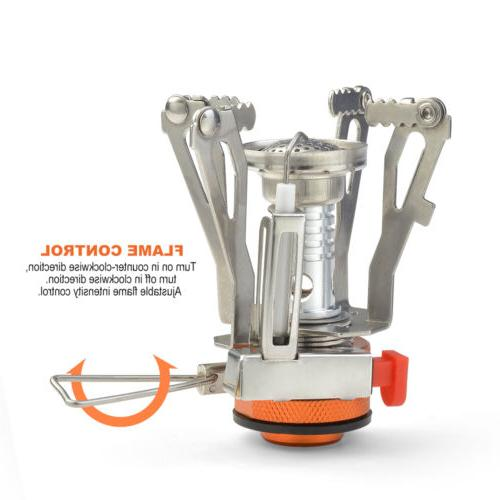 Camping Stove+Pot for Outdoor Backpacking Cooking