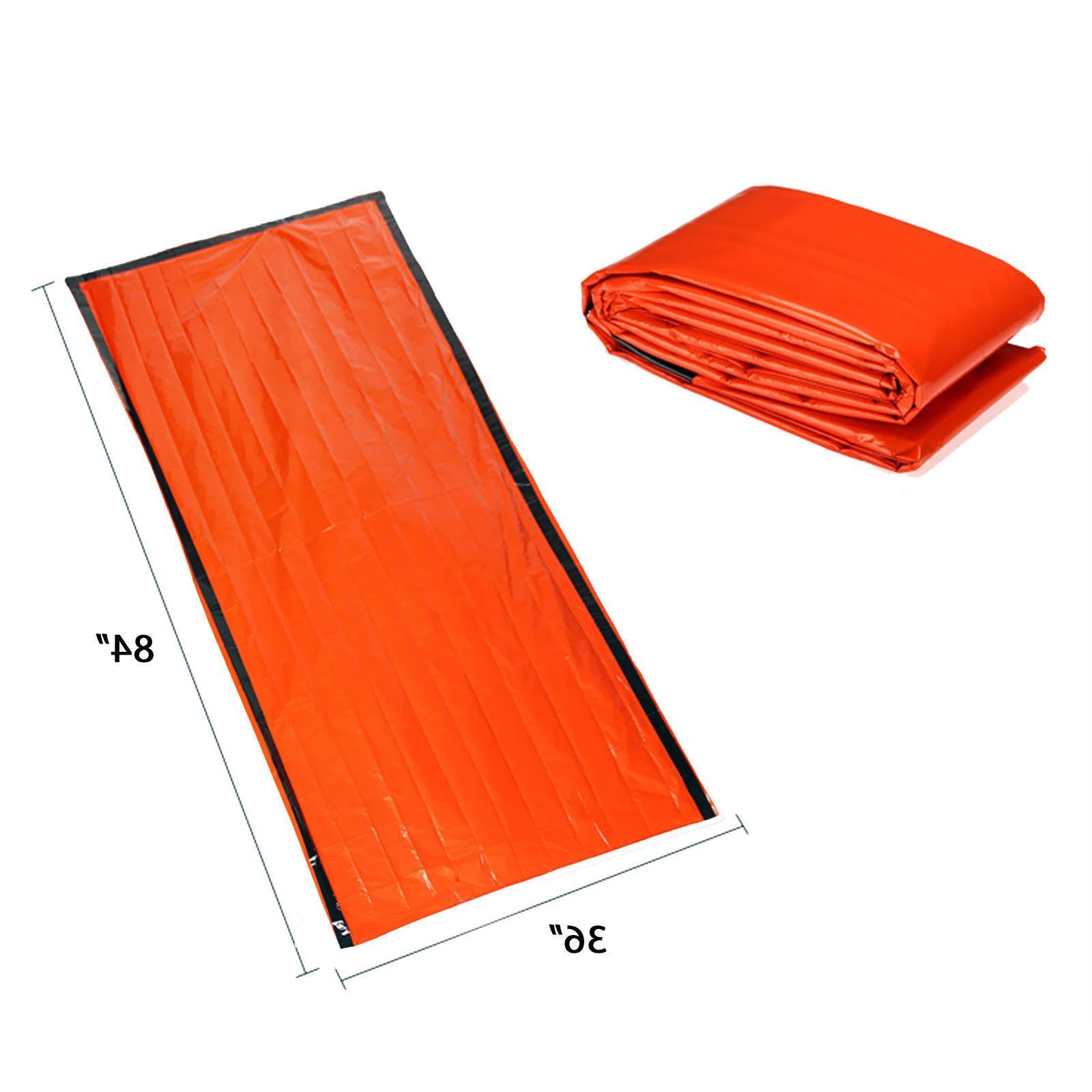 Camping Sleeping Bag Emergency Blanket Gear