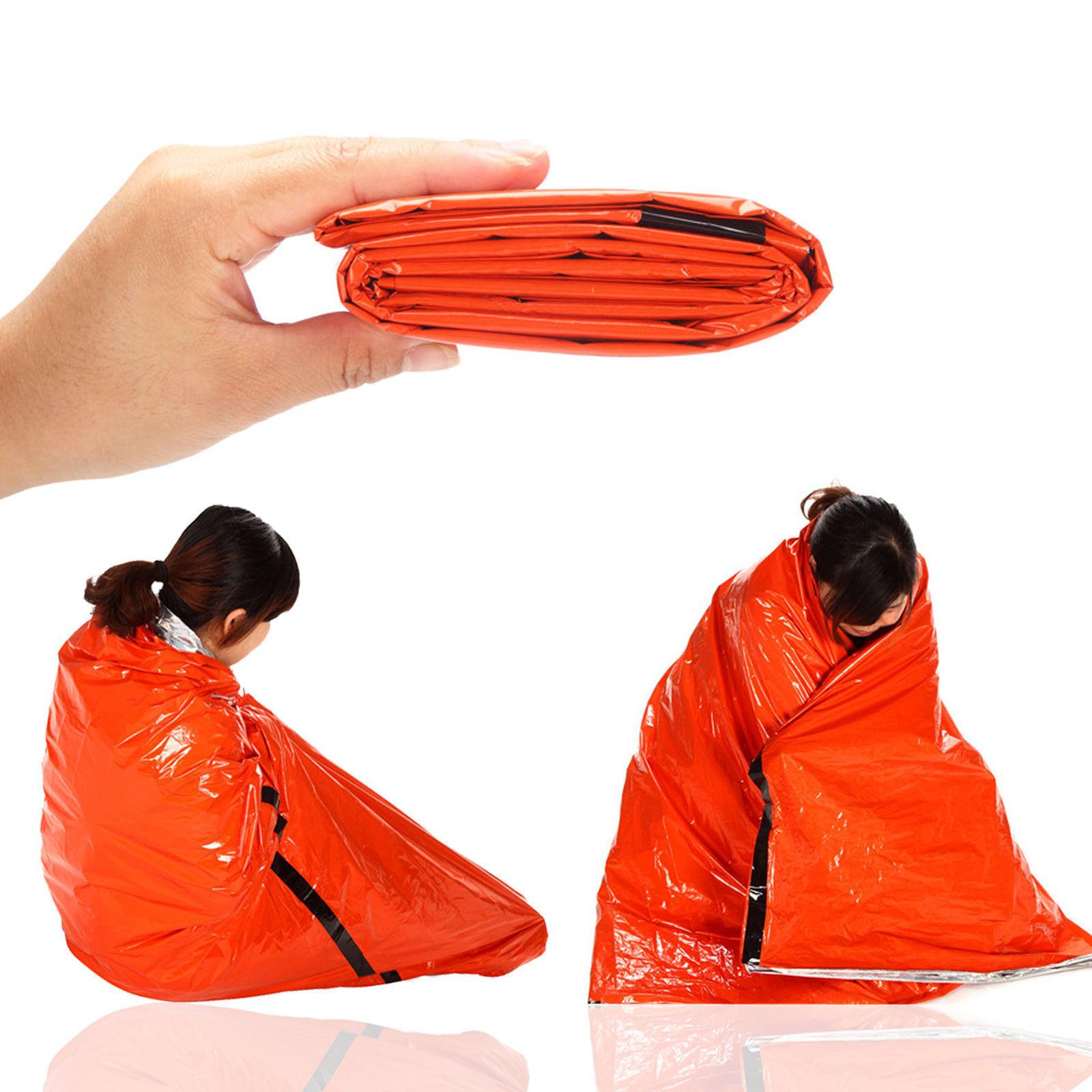 Camping Thermal Bag Emergency Survival Hiking Gear
