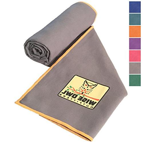 camping towel soft compact quick