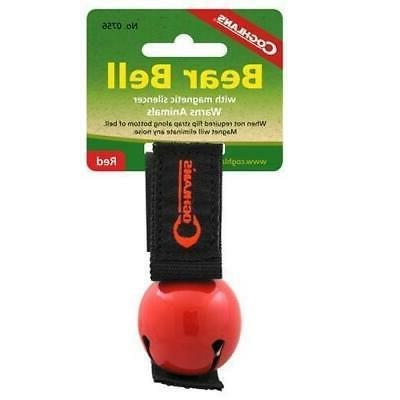 coghlan s bear bell with magnetic silencer