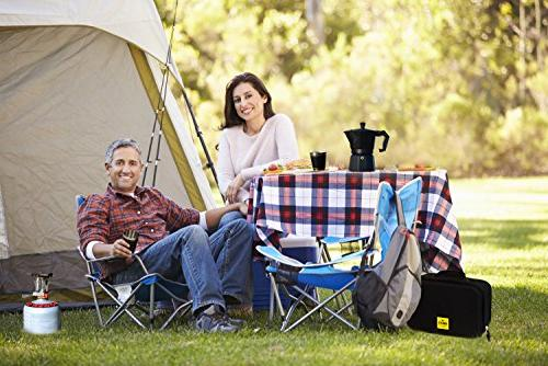 Compact Kit for Lovers – Gear – Propane Burner, 2 Cups,Travel