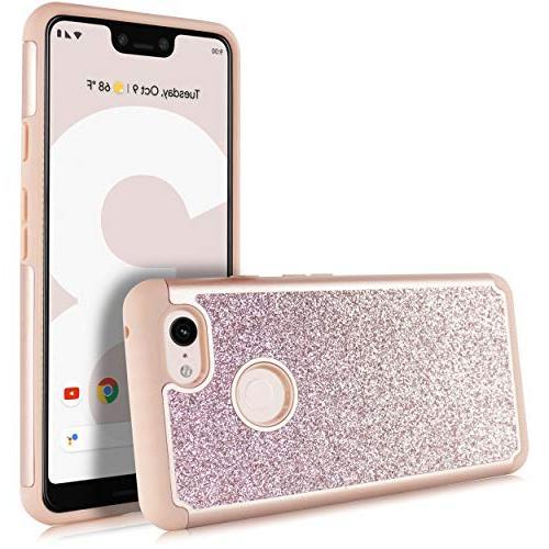 Compatible 3 Bling Sparkle Protective Case Includes XL