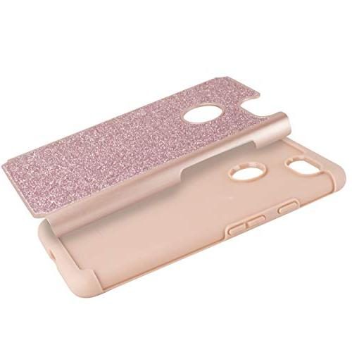 Compatible 3 XL Cute Bling Sparkle Protective Hybrid Shockproof Includes XL