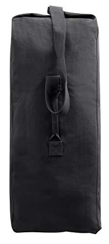 Duffle Bag - Giant Canvas Top Load, Black by Rothco