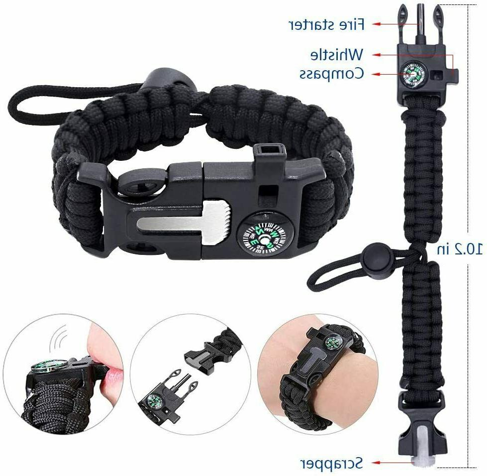 Emergency Outdoor Kit Camping Hiking Gear