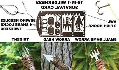 Emergency 35 Gear, Hiking, Camping, Backpacking Everyday Prepper Bushcraft, Bug Best Preparedness