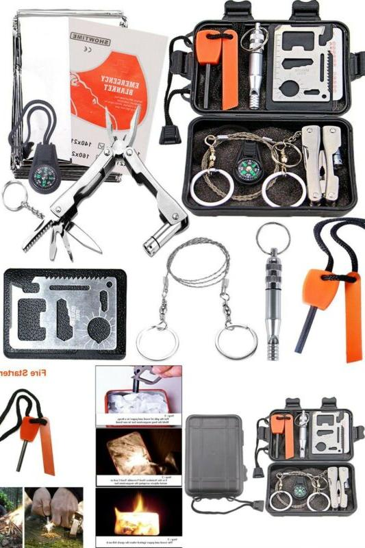 emergency survival kit gear camping