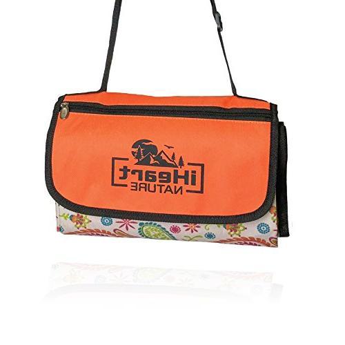 family picnic mat shoulder strap